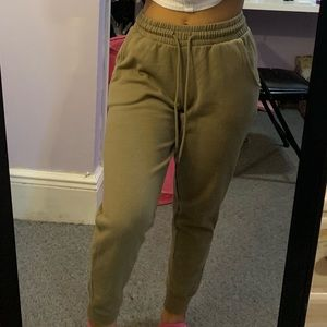 Forever 21 Olive Green Joggers